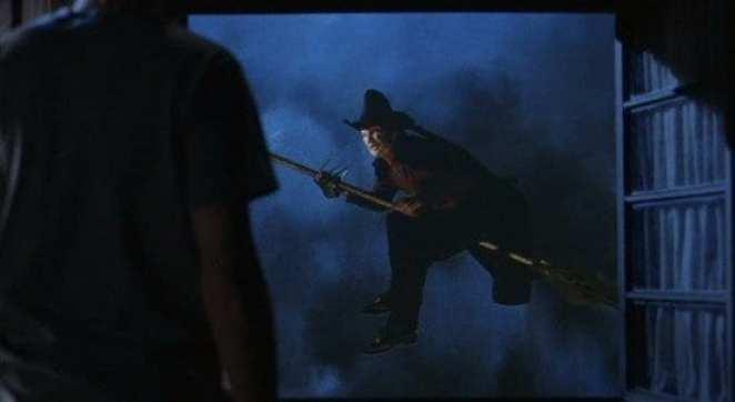 Freddy as 'wicked witch' in a dream in Freddy's Dead.