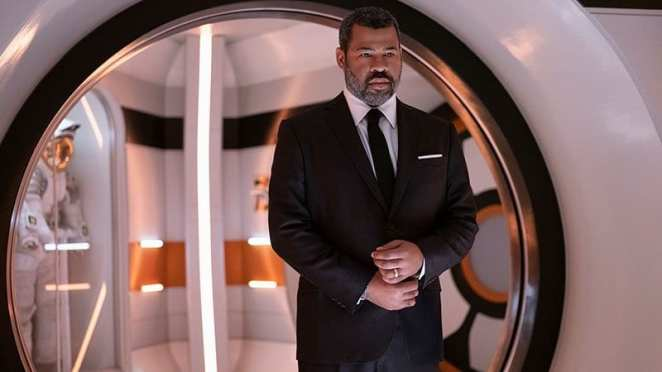 """Jordan Peele as The Narrator in The Twilight Zone episode """"Six Degrees of Freedom"""""""