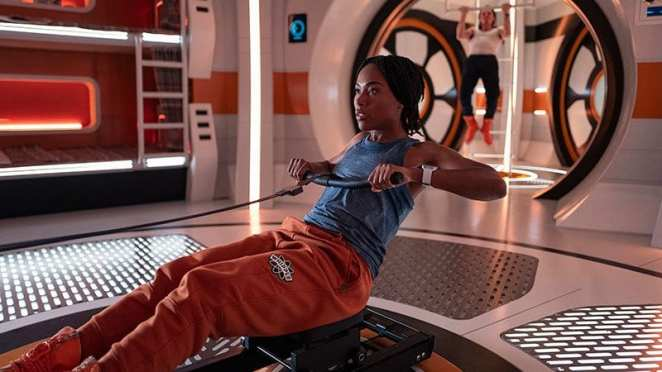 """DeWanda Wise as Alexa, the commander of a doomed flight to Mars in the Twilight Zone episode """"Six Degrees to Freedom"""""""