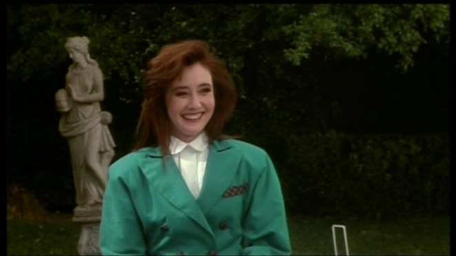 Heather Duke (Shannon Doherty) is our green Heather.