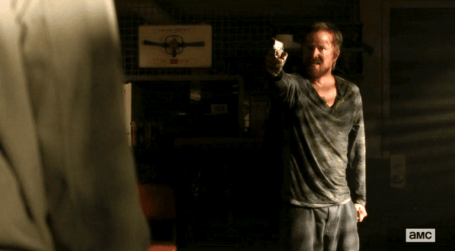 Aaron Paul in Breaking Bad finale