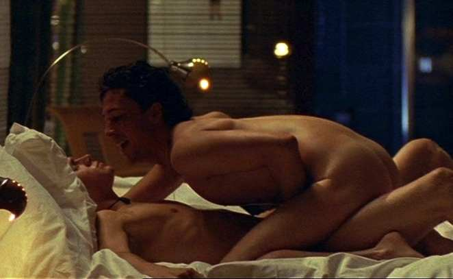 Aidan Gillen and Charlie Hunnam in their famous sex scene from Queer As Folk