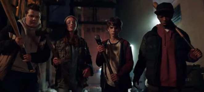 Adny (Grabriel Bateman) and his friendds prepare to fight Chucky.