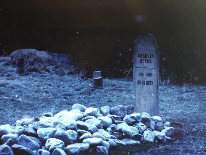 Charlie Utter's grave