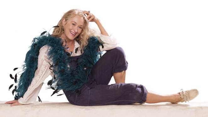 Meryl Streep as Donna Sheridan in Mamma Mia