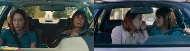 Lady Bird and Mother fight and love