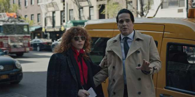 Nadia gets John's help while he tries to convince her to meet his daughter in Russian Doll.
