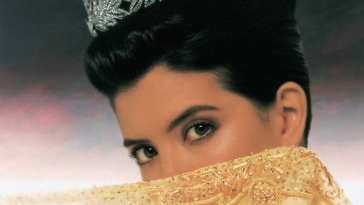 Princess Caraboo film cover shows a veiled face of a woman