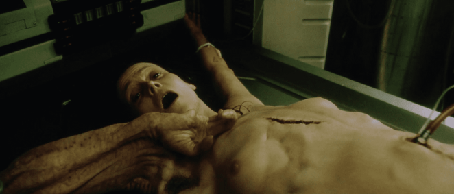 Ripley's clone in Alien Resurrection begs for death