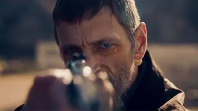 Ex-FBI Agent and pedophile hunter Viggo Larsen (John Hawkes) carries on the tradition of the One-Eyed warrior in Nicolas WInding Refn's work.