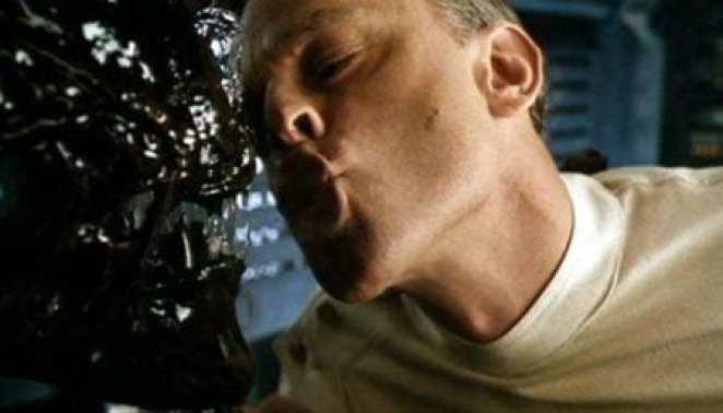 Brad Dourif teasing a xenomorph which ... isn't a great idea