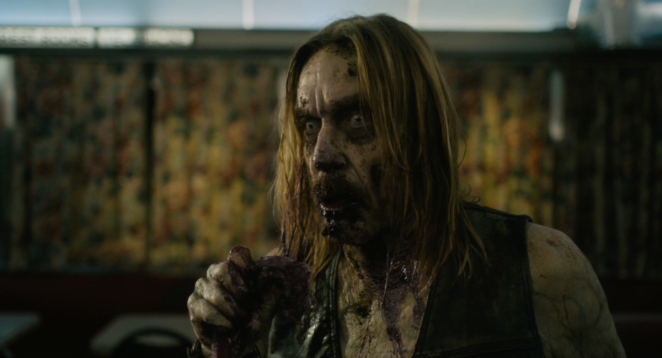 Iggy Pop as a zombie in The Dead Don't Die