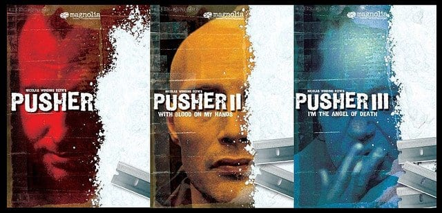 Pusher Trilogy cover art