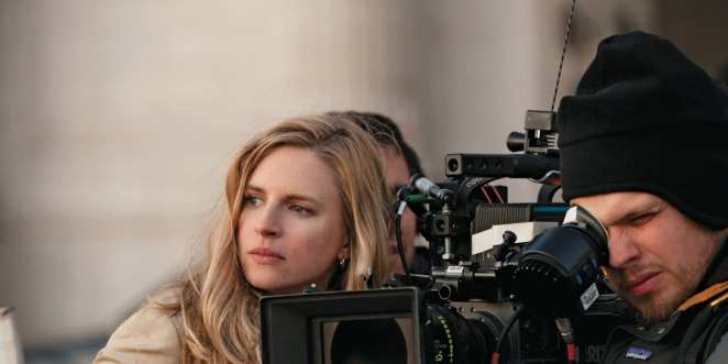 Brit Marling behind the camera