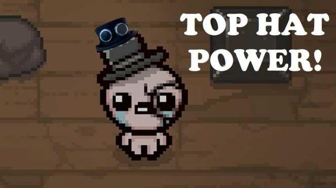 Binding of Isaac top hat power