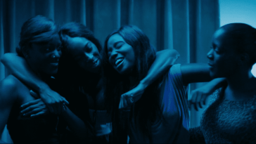 Diamonds scene from Céline Sciamma's Girlhood