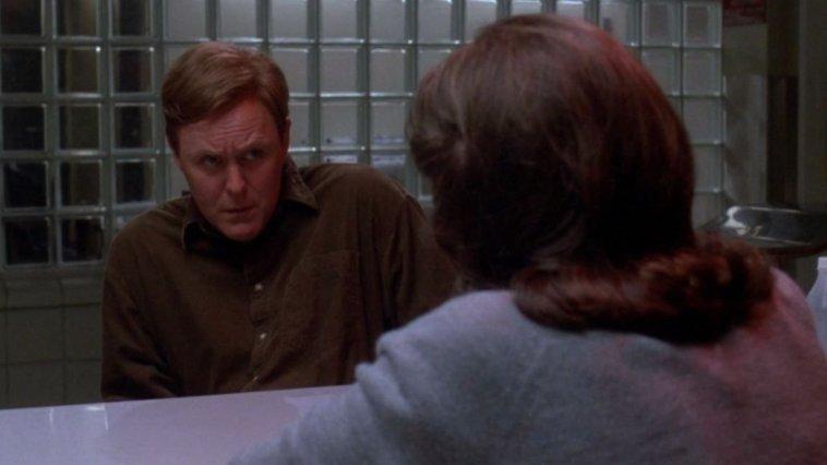 Carter Nix is interrogated in Raising Cain