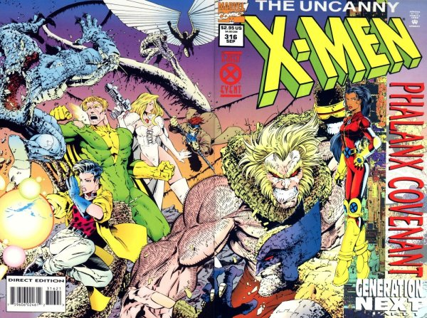 The Summer X-Men Event of 1994 was the Pahlynx Covenant, and this issue cover is from Uncanny X-Men #316, featuring Monet and Sabertooth.