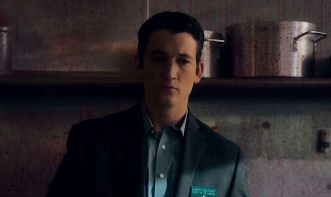 Matin Jones (Miles Teller) shifts from cop to contract pedophile killer in Too Old To Die Young.