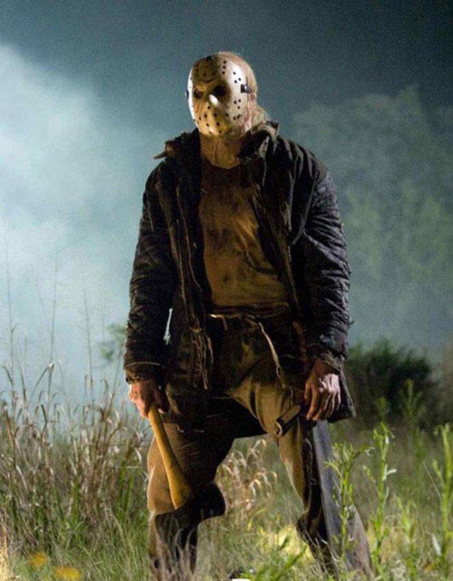 Jason Voorhees holding an axe