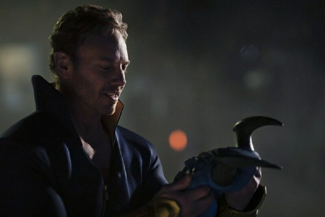 Daniel Cassidy/Blue Devil (Ian Ziering) is transformed into something more than human.