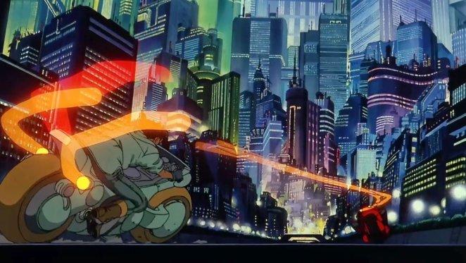 The Biker gangs that terrorise Neo-Tokyo in Akira.