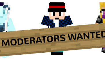moderators wanted mine craft style
