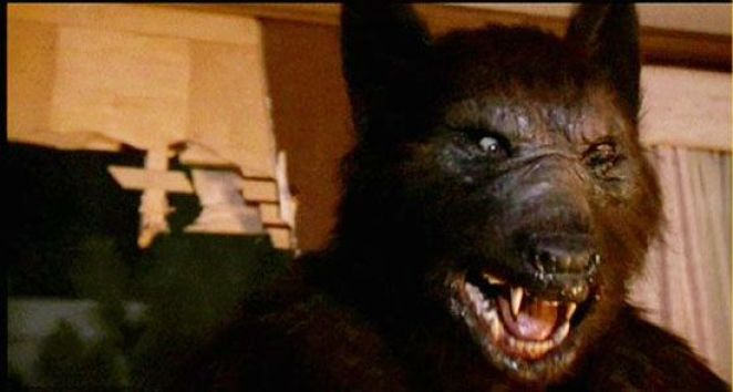 The werewolf during the climax of Silver Bullet