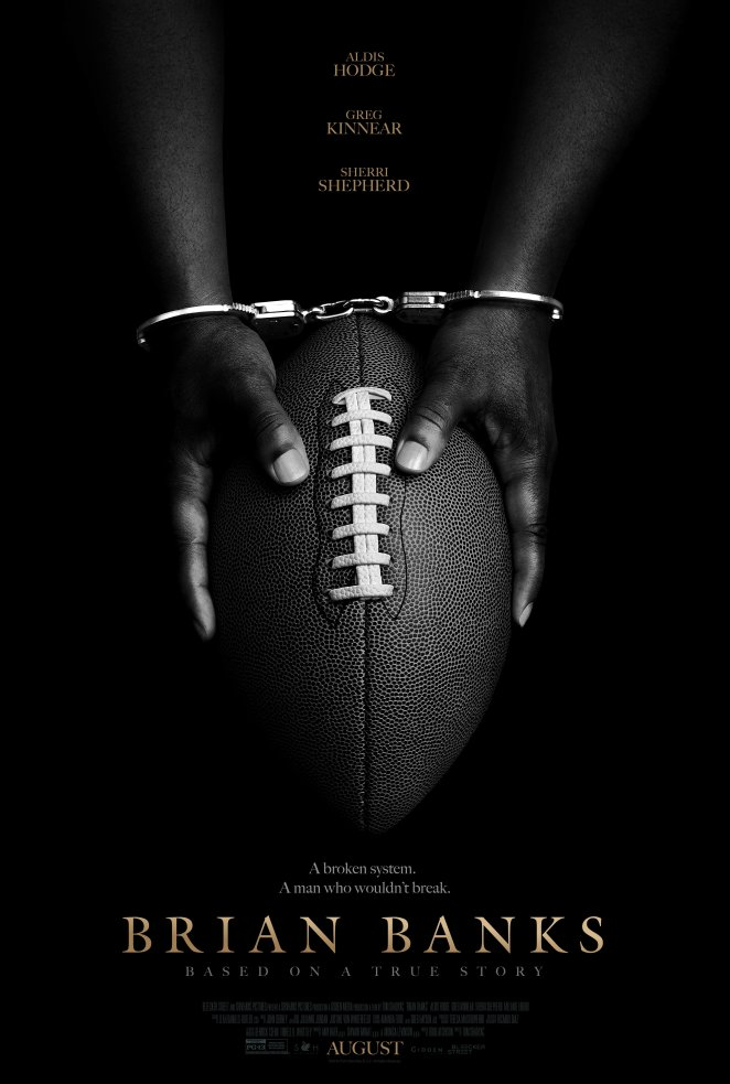 "The poster for director Tom Shadyac's inspiring ""Brian Banks"""