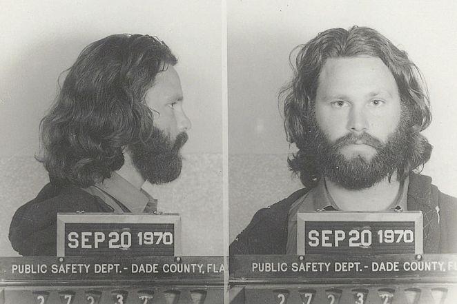 Jim Morrisons mug shot