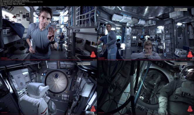 "The split-screen and display margins given an authenticity layer to ""Europa Report"""