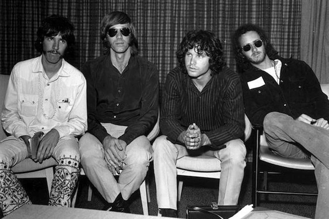 The Doors in 1969 recording The Soft Parade
