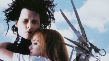 Johnny Depp and Winona Ryder Edward Scissorhands