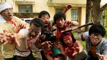 One Cut of the Dead cast as zombies
