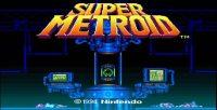 Super Metroid loading screen 1994