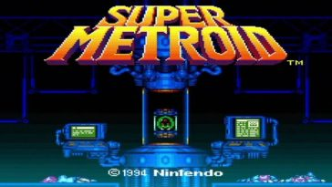 Super Metroid loading screen 1994
