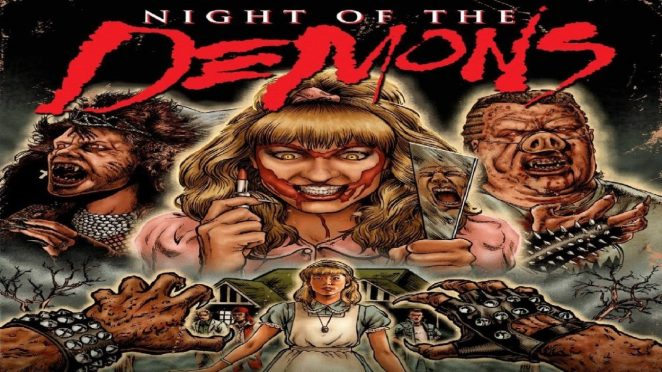 Movie poster for Night of the Demons
