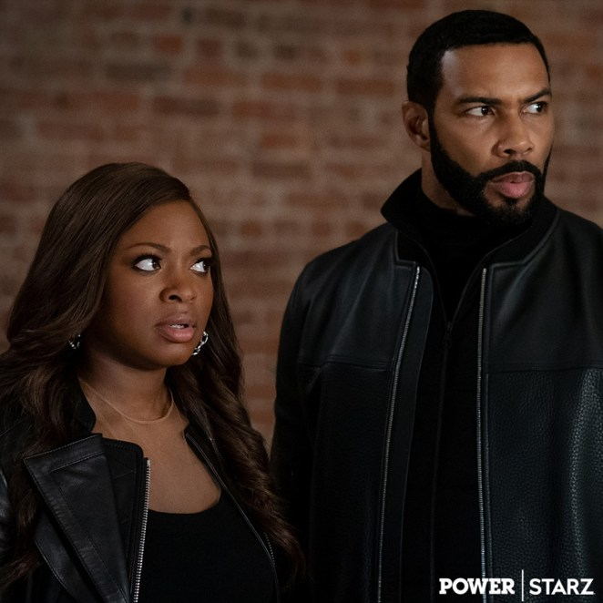 Ghost and Tasha look towards Tommy