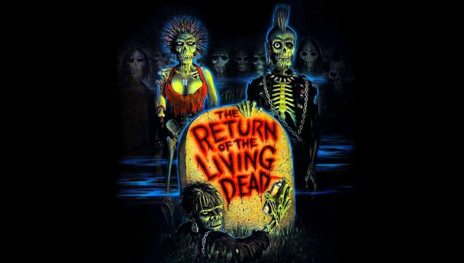 Return of the Living Dead movie cover