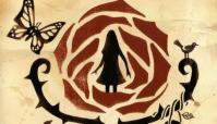 silhouette of girl within rose artwork for Rule of Rose