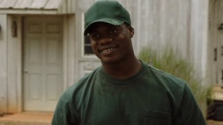 The gardener grins in Get Out