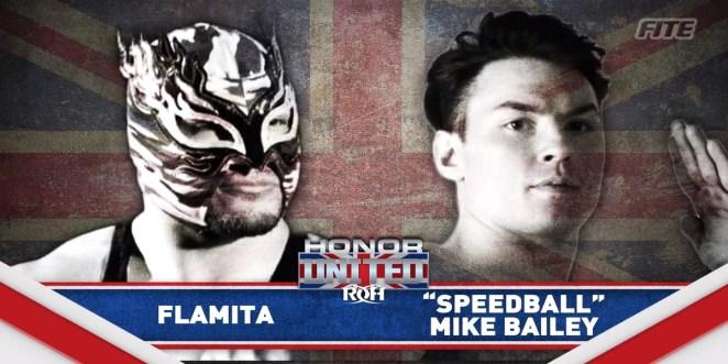 ROH Flamita vs. Mike Bailey