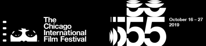 The official banner of the 55th Chicago International Film Festival