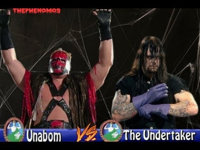Unabom (Kane) vs The Undertaker in Smoky Mountain Wrestling