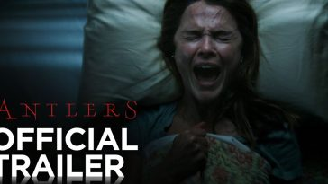 Antlers trailers shows a woman screaming in bed