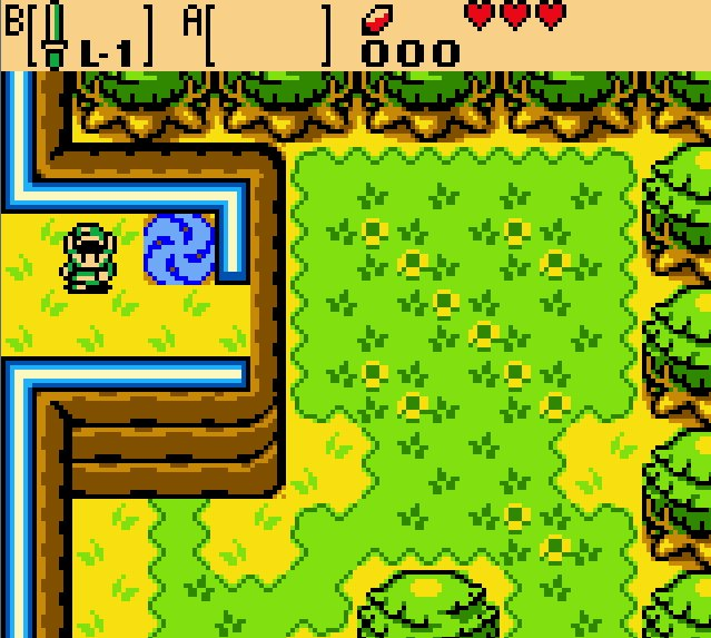 A time portal in The Legend of Zelda: Oracle of Ages