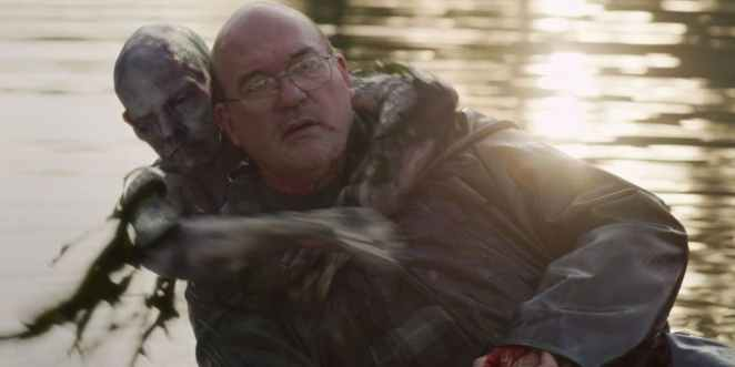 The disfigured corpse of Bobby pulls Mr Jingles into the water in a scene that looks like Friday the 13th