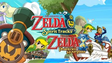 A mashup of the Spirit Tracks and Phantom Hourglass art