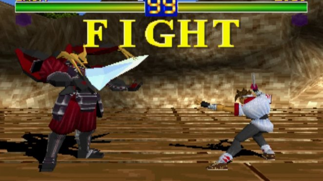 Battle Arena Toshinden Boss Battle