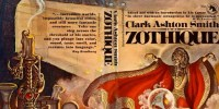 Cover art for Zothique and other stories by Clark Ashton Smith.